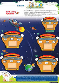 earth calling apollo 1 math worksheet for grade 4 free