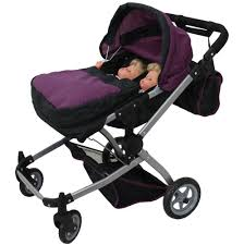Graco Baby Doll Furniture Sets by Twin Doll Pram Stroller Carrier Carriage Baby Buggies Bears