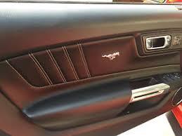 mustang door panel ford mustang interior door panel pony emblem set pair chrome 2015