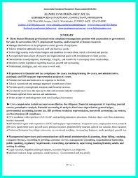 Sample Resume For Compliance Officer Customized Resume Virtren Com