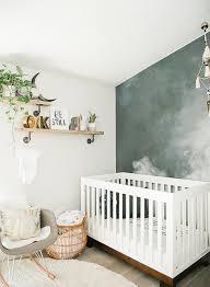 photo chambre bébé une chambre bébé boho chic bébé grossesse et décoration