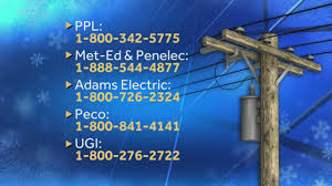 Penelec Outage Map Power Company Phone Numbers Websites Track Outages