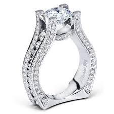 semi mount engagement rings michael m strada semi mount engagement ring king jewelers