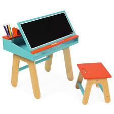 bureau et chaise pour bébé bureau et chaise bleu janod jouet bebe cadeau ch