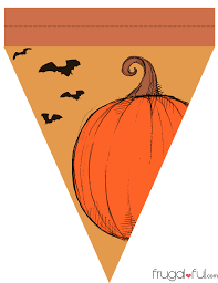 halloween banner clip art diy free printable halloween triangle banner template u2013 frugalful