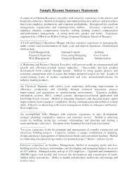 exle of resume summary summary section of resume exles zippapp co