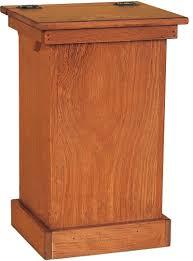 kitchen cabinet garbage drawer ikea wood trash bag holders