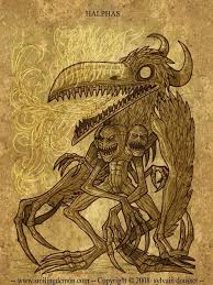 72 demons halphas he is the great count and appears as a dove