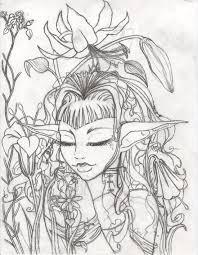 flower garden sketch by defekte traume on deviantart