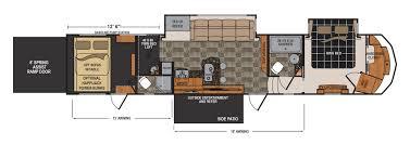 voltage toy hauler floor plans voltage 4150 floorplans detail rv dreams pinterest rv living