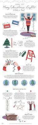 best way to hang christmas lights on tree how to hang christmas lights real simple