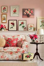 Vintage Cottage Decor by Pink Cupboards I Want An Entire Pink House Inside And Out
