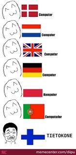 Finnish Language Meme - finnish language by diipu meme center