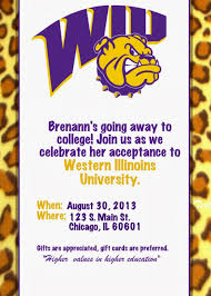 tips for choosing college trunk invitations free templates