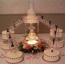 wedding cakes with fountains wedding cakes with lights and fountains wedding party decoration