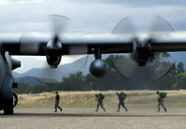 free public domain image soldiers boarding a c 130 hercules aircraft