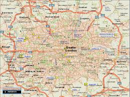 Google Maps England by London And Greater London Map Deboomfotografie