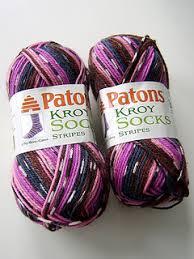pattern kroy socks ravelry patons north america kroy socks stripes