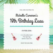 18th birthday invitation templates canva