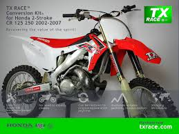 tx race conversion kit for honda 2 stroke cr 125 250 200 u2026 flickr