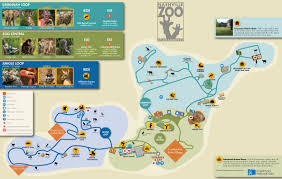 Map Of Nashville Tn Zoos Nashville Zoo