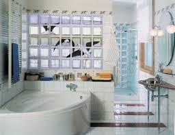 Glass Block Bathroom Designs Bathroom Designs Using Glass Bricks Simple Yet Design