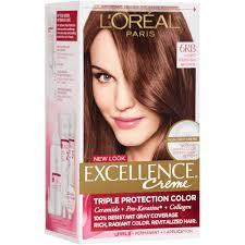 Light Brown Temporary Hair Color Spray L U0027oreal Paris Excellence Creme Hair Color 5 Medium Brown 1 Kit