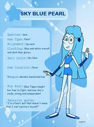 blue opal gemsona gemsona sky blue pearl by popinat on deviantart