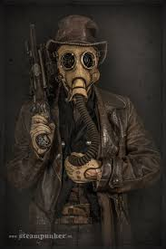 i hand craft steampunk costumes from old parts for movies bored
