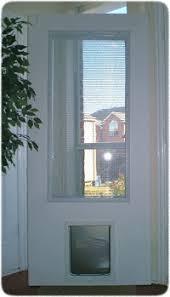 Exterior Back Door Exterior Door With Built In Pet Door Xpd75 Low Prices Plus