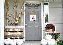 pictures of front porches decorated for fall how to design a front