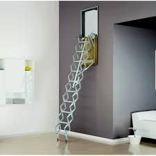 loft ladders vertical wall