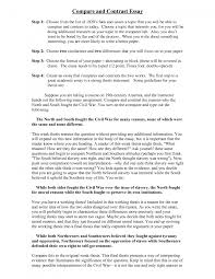 cover letter examples of comparison essay examples of comparison