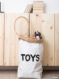 paper bag toys storage bags tellkiddo