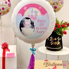 personalised birthday balloons send personalised 40th birthday balloon in a box