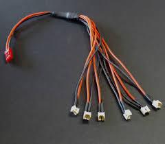 Wohnzimmer Lampe Lipo Ladekabel Adapter Jst 1s 3 7v Lipo Auf 6x Pico Buchse Für Eflite