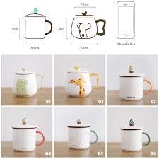 girly cute cartoon coffee mug creative ceramic drink cup dc308