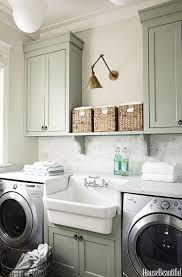 Laundry Room Accessories Storage by Best 25 Farmhouse Laundry Rooms Ideas On Pinterest Laundry Room