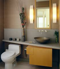 contemporary toilet bowls with glass shutters bathroom