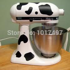 Purple Kitchenaid Mixer by Aliexpress Com Buy Kitchenaid Mixer Cow Print Sticker Decals