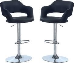 Black Bar Stool Furniture Elegant Kitchen High Chair Design With Cozy Lowes Bar