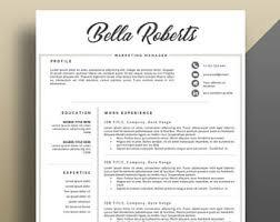 eye catching resume templates eye catching resume etsy