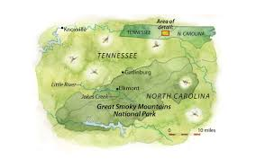 Smoky Mountains Map Great Smoky Mountains National Park Is One Of The Few Places To