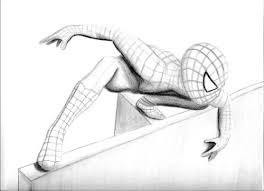 spiderman sketch 2008 2009 nicollemariemiller spiderman