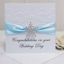snowflake wedding invitations diamante brooch winter wedding invitations
