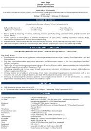 Software Engineer Resume Templates Software Experience Resume Sample Business Analyst Resume Sample