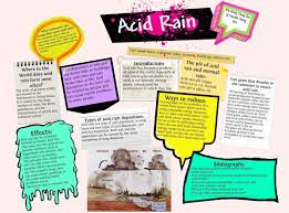term paper about acid rain