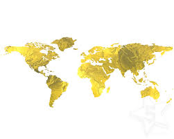 free printable gold foil world map download lexia frank