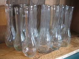 Clear Vases Bulk 10 Clear Glass Flower Vases Bud Vases Wedding Shower