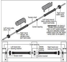 How To Adjust A Craftsman Garage Door Opener by Garage Door Torsion Spring Adjustment And Craftsman Garage Door